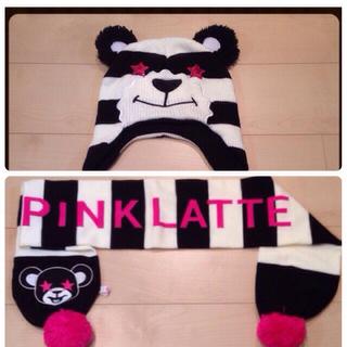 ピンクラテ(PINK-latte)の値下げ‼️ピンクラテ♡2点セット☆(マフラー/ショール)