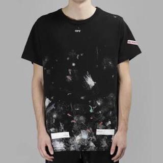 オフホワイト(OFF-WHITE)のoff white galaxy tee M(Tシャツ/カットソー(半袖/袖なし))