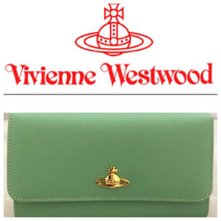 ヴィヴィアンウエストウッド(Vivienne Westwood)の新品 VivienneWestwood サファイアーノ バイカラー 長財布 牛革(財布)