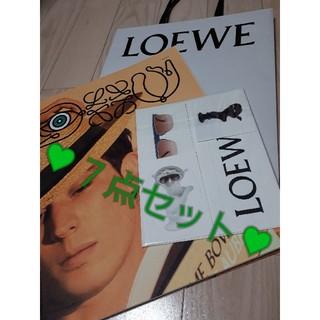 ロエベ(LOEWE)のLOEWE ステッカー ポストカード 袋 カタログ(ショップ袋)