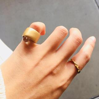 アッシュペーフランス(H.P.FRANCE)のmocco リング(リング(指輪))