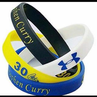 NBA 人気選手 カリーシリコン ブレスレット 4個(ブレスレット)
