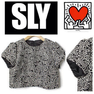 スライ(SLY)のSLY キースへリング トップス(Tシャツ(半袖/袖なし))