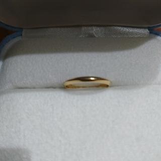 ティファニー(Tiffany & Co.)のTIFFANY K18 ナイフエッジリング  #12 ティファニー(リング(指輪))