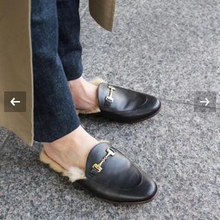 ドゥーズィエムクラス(DEUXIEME CLASSE)の週末まで 完売CAMINANDO ドゥーズィエムクラスBIT FUR(ローファー/革靴)