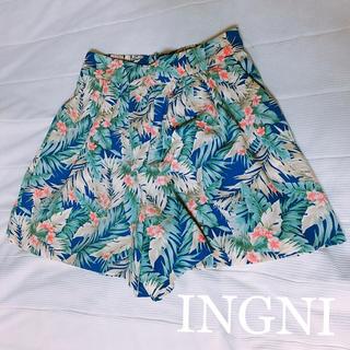 INGNI - INGNI ボタニカル ショート パンツ △▼△ お値下げ交渉大歓迎!!