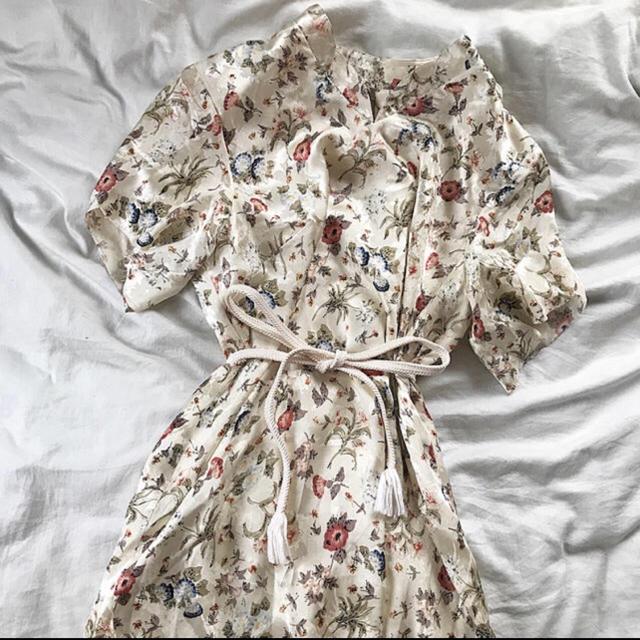 bd266c940f7d8 Grimoire(グリモワール)のアイボリー ✳ チャイナ服 ✳ ワンピース レディースのワンピース