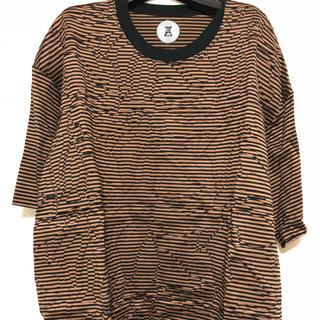"""アンリアレイジ(ANREALAGE)のANREALAGE 17a/w """"ROLL"""" big t-shirt(Tシャツ/カットソー(半袖/袖なし))"""