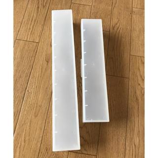 ムジルシリョウヒン(MUJI (無印良品))の無印良品ラップケース 大、小セット(収納/キッチン雑貨)