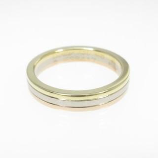 カルティエ(Cartier)のカルティエ  スリーゴールドリング(リング(指輪))