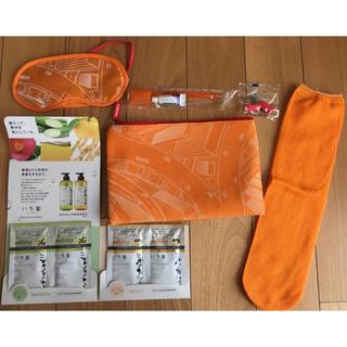 エミレーツ航空✈️いち髪🌺 トラベルセット オレンジ