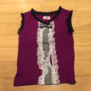 チョイス(CHOICE)のCHOICE ノースリーブカットソー(Tシャツ(半袖/袖なし))