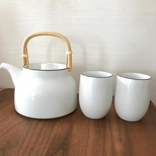 白山陶器 - 未使用 白山陶器 急須&湯呑み×2個セット