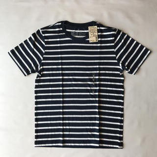 ムジルシリョウヒン(MUJI (無印良品))の無印良品 メンズ ボーダーTシャツ(Tシャツ/カットソー(半袖/袖なし))