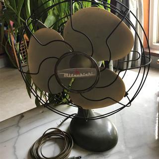 ミツビシ(三菱)のさんぼ様専用  扇風機 レトロ mitsubishi(扇風機)