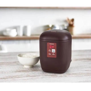コイズミ(KOIZUMI)のコイズミ ホワイト ミニ 1.5合炊き KOIZUMI 炊飯器(炊飯器)
