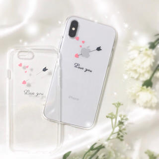 ➴「Love you」➴エンジェルアロー «ソフトケース»(iPhoneケース)