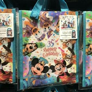 ディズニー(Disney)のパーク完売 再販無 35周年 ハピエストセレブレーション レジャーシート 実写 (その他)