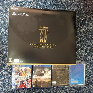 プレイステーション(PlayStation)のPS 4 FF本体(1TB)及びソフト2本(家庭用ゲーム本体)