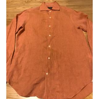 アルティザン(ARTISAN)のARTISAN アルチザン シャツ 長袖 麻100%リネン メンズ M(シャツ)
