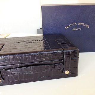 フランクミュラー(FRANCK MULLER)のFRANCK MULLER フランク・ミュラー 純正クロコ 型押し 腕時計ケース(その他)
