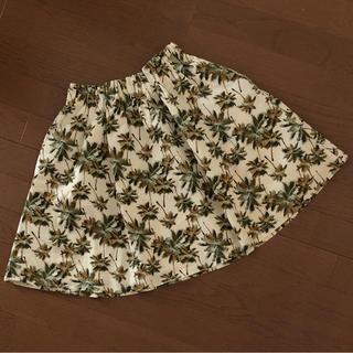 ローリーズファーム(LOWRYS FARM)のLOWRYSFARM ❁ ボタニカル柄スカート(ミニスカート)