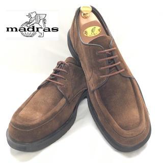 マドラス(madras)の【美品】マドラス Madras スエード Uチップ レザー シューズ26.5(ドレス/ビジネス)