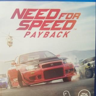 プレイステーション4(PlayStation4)の[新品]Need For Speed payback初回特典コードつき。(家庭用ゲームソフト)