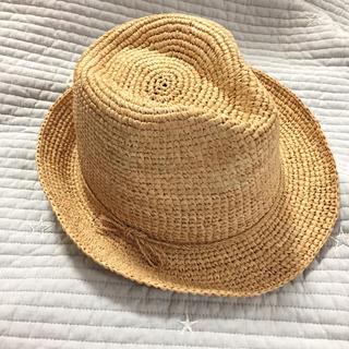 MUJI (無印良品) - ◉SALE◉ ◼️無印良品 中折れ帽 ハット ラフィア 麦わら帽子 ナチュラル