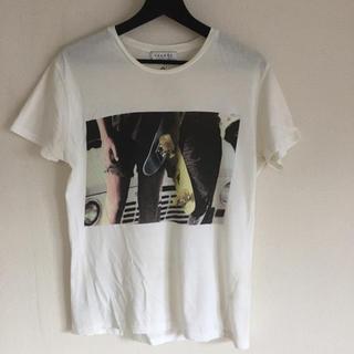 SANDRO(サンドロ) 丸首 半袖フォトTシャツ Sサイズ 送料込み