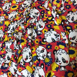 グラグラ(GrandGround)のグラグラ 甚平 浴衣 赤 パンダ 110 かわいい JAM 総柄(甚平/浴衣)