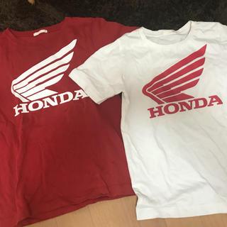 ジーユー(GU)のHONDA 2枚セット130(Tシャツ/カットソー)