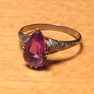 サンプラチナのカラーチェンジレトロリング(リング(指輪))