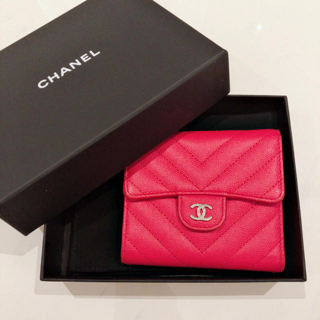 release date: 62cc6 62153 CHANEL ♡ 財布 コンパクト ミニ財布 ♡ ピンク | フリマアプリ ラクマ