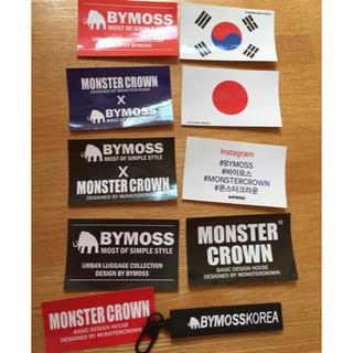 バイモス(BYMOSS)のBYMOSS キーホルダー ステッカー(キーホルダー)