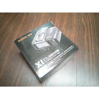 【新品未開封品】2018年7月17日購入Godox X1T-C送信機 キヤノン用