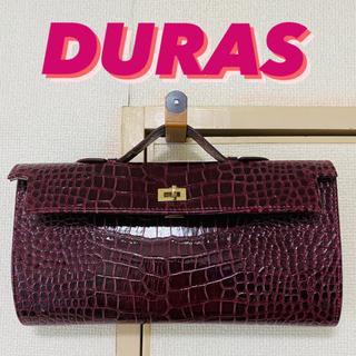 デュラス(DURAS)のDURAS クロコクラッチバッグ デュラス(クラッチバッグ)