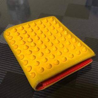クリスチャンルブタン(Christian Louboutin)の専用    C.Louboutin 財布 スタッズ コンパクト 二つ折り(折り財布)