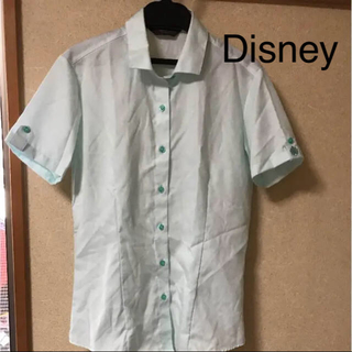 ディズニー(Disney)の半袖 シャツ ワンポイント 刺繍(シャツ/ブラウス(半袖/袖なし))