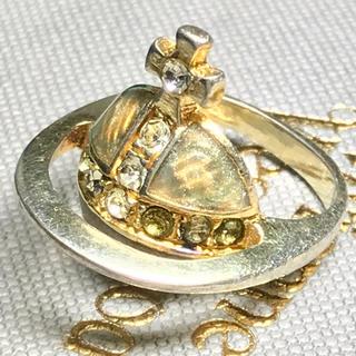ヴィヴィアンウエストウッド(Vivienne Westwood)のヴィヴィアン ゴールド ソリッド オーブリング (リング(指輪))