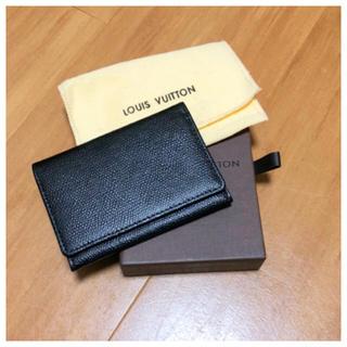 コムサメン(COMME CA MEN)のカードケース コムサ ルイヴィトン 箱付き(名刺入れ/定期入れ)