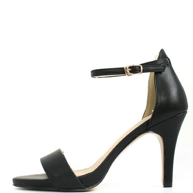 RANDA(ランダ)の新品 定価7452円 ランダ サンダル ブルー or ブラック LLサイズ レディースの靴/シューズ(サンダル)の商品写真