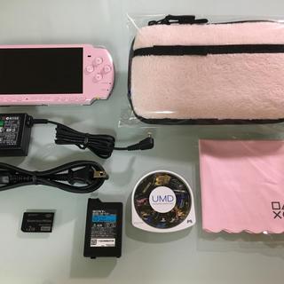PlayStation Portable - 美品 PSP-3000 ブロッサムピンク 限定版