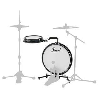Pearl パール ドラムセット コンパクトトラベラー PCTK-1810BG(セット)
