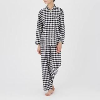 ムジルシリョウヒン(MUJI (無印良品))の無印良品 脇に縫い目のないフランネルパジャマ レディース(パジャマ)