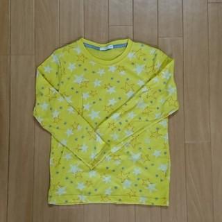 ジーユー(GU)の子供 キッズ 長袖Tシャツ(サイズ130)(Tシャツ/カットソー)