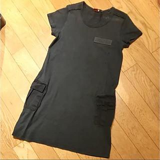 avirex tシャツワンピース