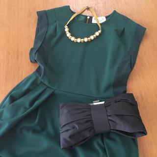 アングローバルショップ(ANGLOBAL SHOP)のFLICKAフリッカ ♡ ドレス(ミディアムドレス)