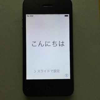 アイフォーン(iPhone)のiPhone4 ブラック 16GB ソフトバンク(スマートフォン本体)