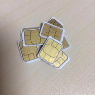 アイフォーン(iPhone)のiPhone アクティベート用 sim(その他)